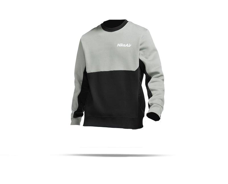 NIKE Air Fleece Crew Sweatshirt (097) - Grau
