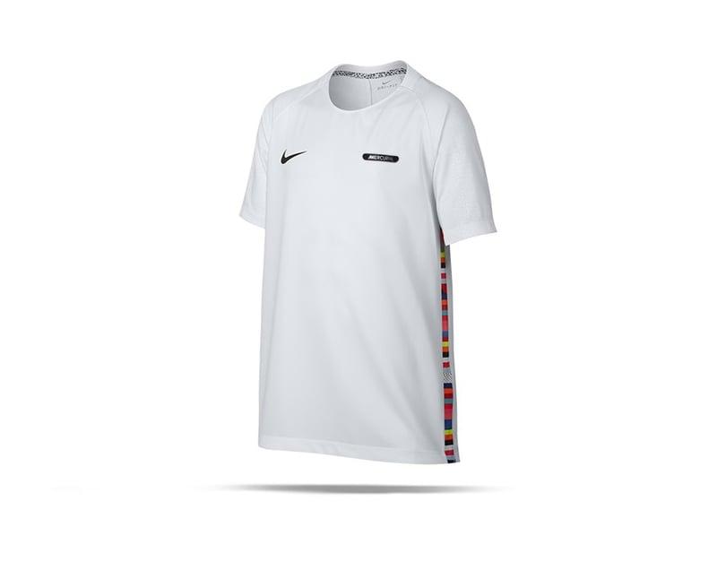 NIKE Dri-FIT Tee T-Shirt Kinder (100) - Weiss