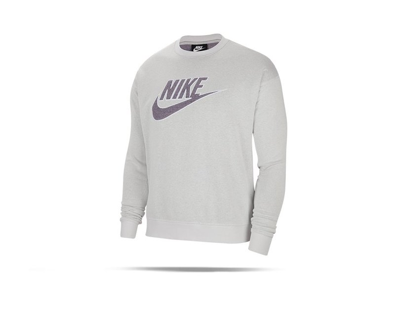 NIKE Essentials Grid-Graphic Sweatshirt (910) - Grau