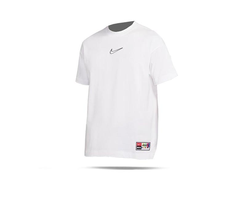 NIKE F.C. Cotton Jersey T-Shirt (100) - weiss