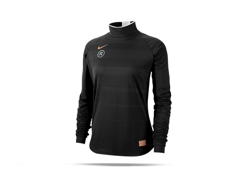 NIKE F.C. Drill Top Sweatshirt Damen (010) - schwarz