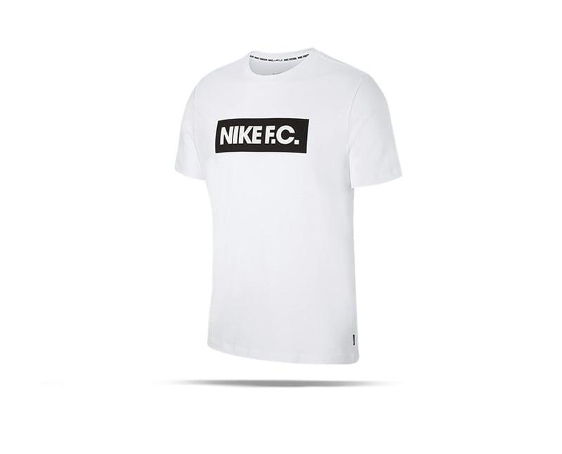 NIKE F.C. Essential Tee T-Shirt (100) - weiss