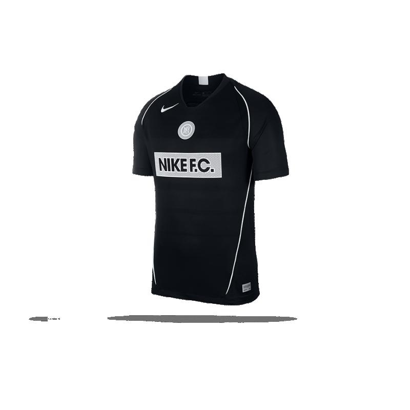 NIKE F.C. Home Soccer Trikot kurzarm (010) - Schwarz
