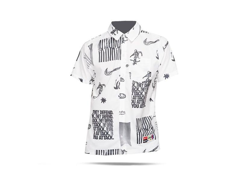 NIKE F.C. Whitespace Shirt Grafik-Hemd (100) - weiss