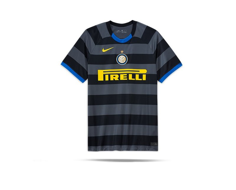 Nike Inter Mailand Trikot 3rd 20 21 022 In Grau
