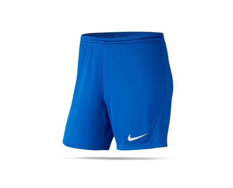 NIKE Park III Knit Shorts Damen (463) - blau
