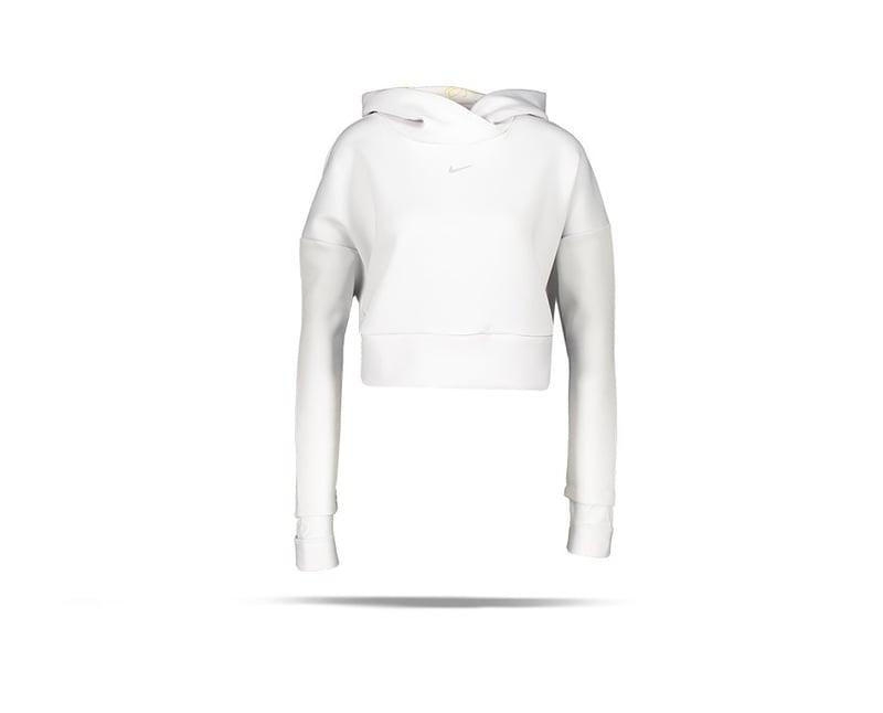 NIKE Pro Fleece Hoodie Damen (028) - Grau