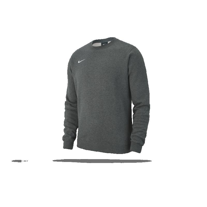 NIKE Team Club 19 Crew Sweatshirt (071) - Grau