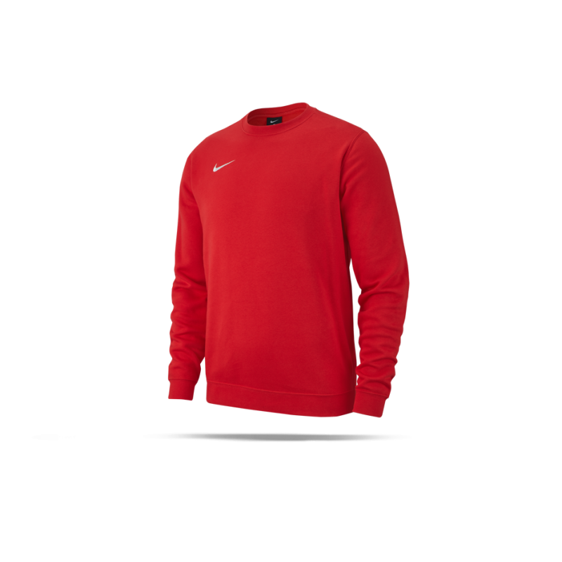 NIKE Team Club 19 Crew Sweatshirt (657) - Rot