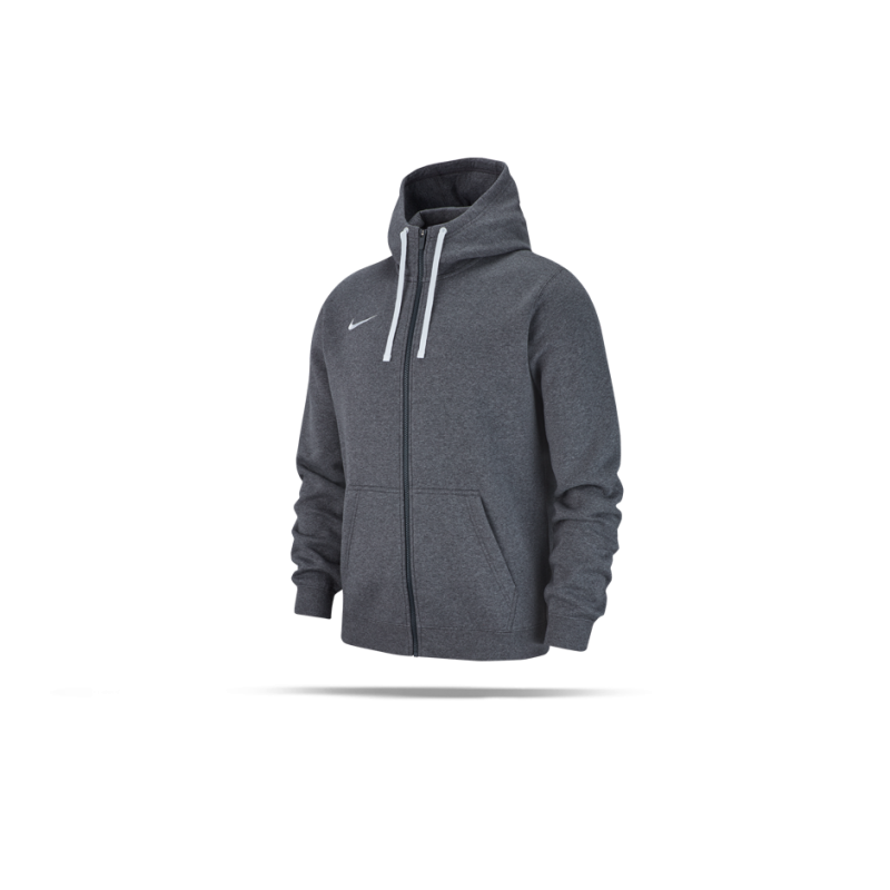 NIKE Team Club 19 Full-Zip Hoodie Kapuzenjacke (071) - Grau