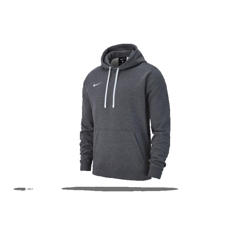 NIKE Team Club 19 Hoodie Kapuzensweatshirt (071) - Grau