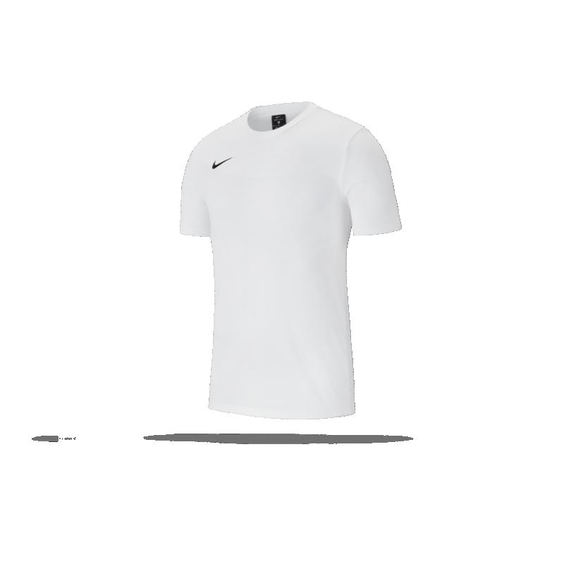 NIKE Team Club 19 Tee T-Shirt (100) - Weiß