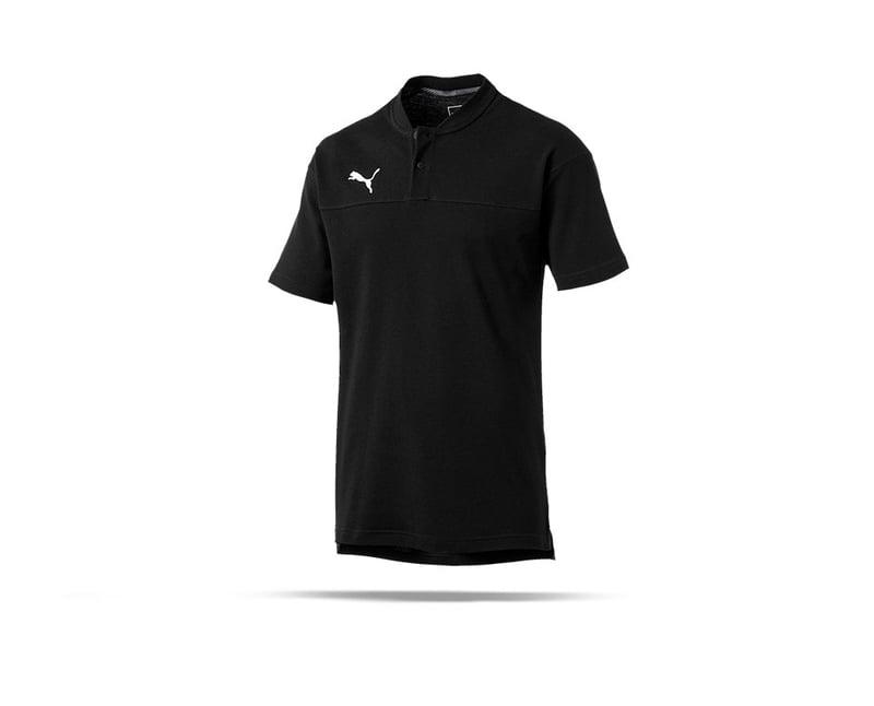 PUMA CUP Casual Poloshirt (003) - schwarz