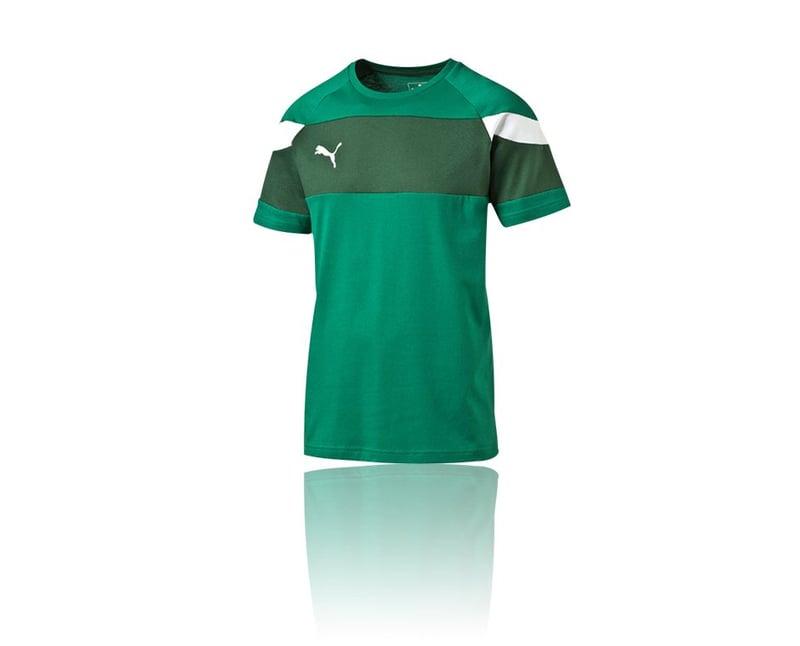 PUMA Spirit II Leisure T-Shirt (005) - gruen