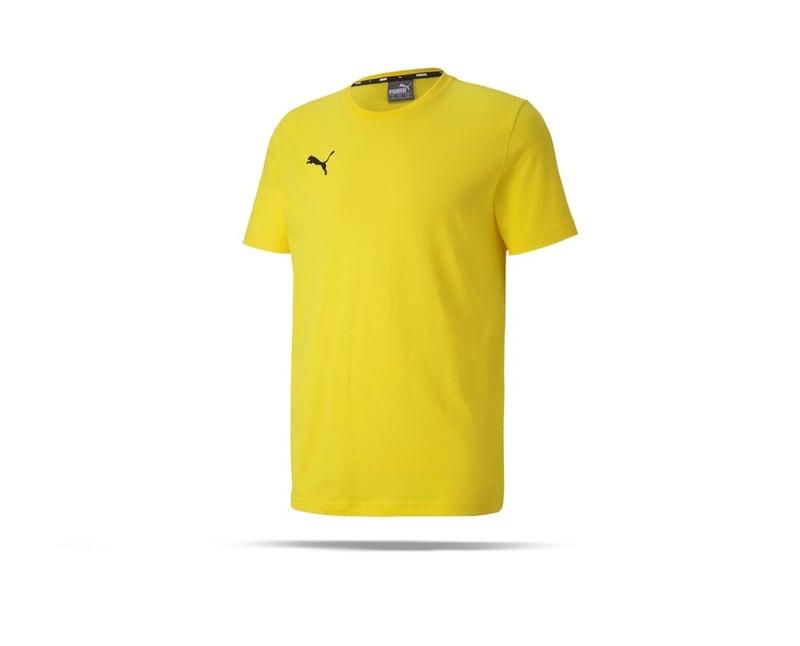 PUMA teamGOAL 23 Casuals Tee T-Shirt (007) - gelb