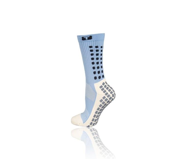 TRUSOX Mid Calf Cushion Socken - blau