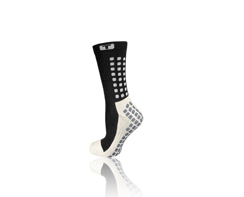 TRUSOX Mid Calf Cushion Socken - schwarz