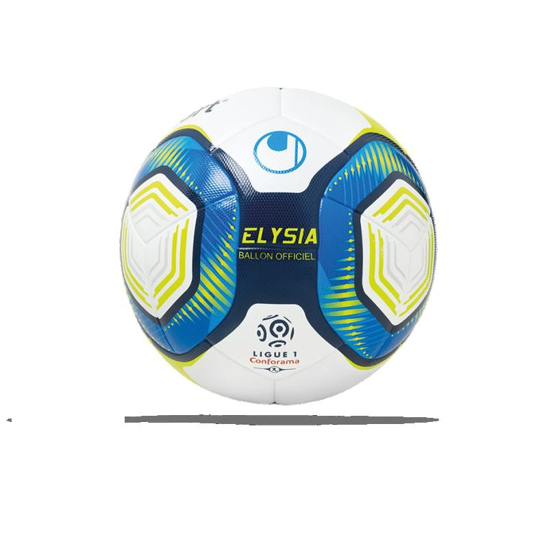 UHLSPORT Elysia Ligue 1 19/20 OMB Spielball Gr. 5 (001) - Weiß
