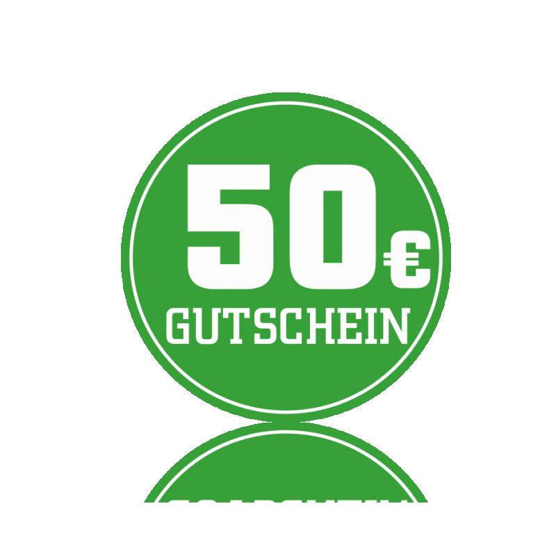 Wertgutschein 50 € -
